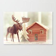 Big Moose Canvas Print