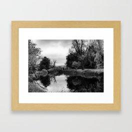 Chinese Bridge at Wrest Park Framed Art Print