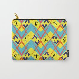 Tribal War Carry-All Pouch