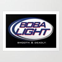 Boba-Light   Art Print