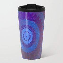 Technicolor Cosmos Blue Travel Mug