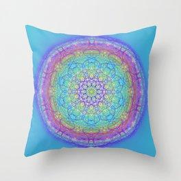 Doodle Mandala 0119 Throw Pillow