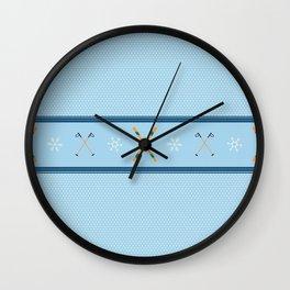 Sweater Season Wall Clock