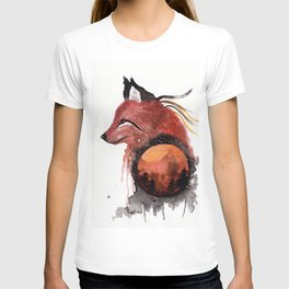 Tetrad the Bloodmoon Fox T-shirt