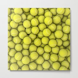 Tennis balls Metal Print
