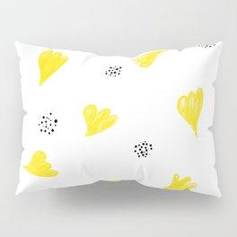 Abstract Sunflower Pillow Sham