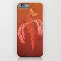Dragon in red iPhone 6s Slim Case