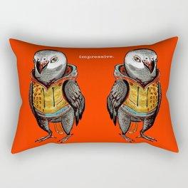 Impressive Parrot Rectangular Pillow