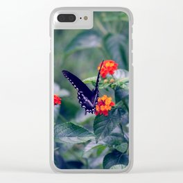 Wings of Paradise Clear iPhone Case