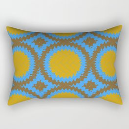 Herringbone splash mosaic Rectangular Pillow