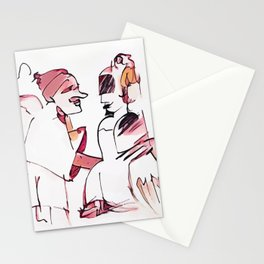 Los Caprichos ~ 6 ~ Nobody Knows Himself Stationery Cards