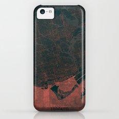 Toronto Map Red iPhone 5c Slim Case