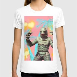 Creature of the pastel lagoon T-shirt