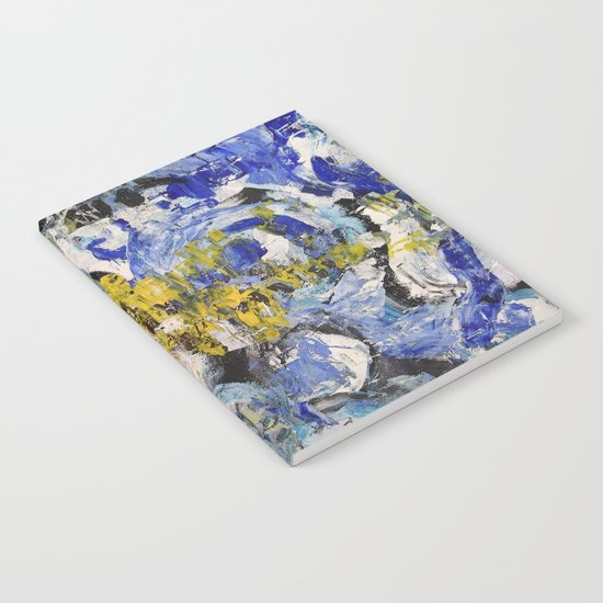 Abstract painting 5 Notebook