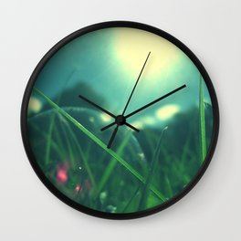 A Bubble's Perspective Wall Clock