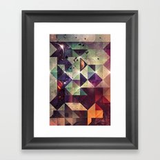 Γyht Lyht Framed Art Print
