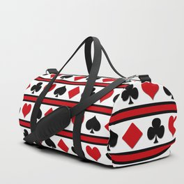 Four card suits Duffle Bag