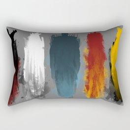 War is here Rectangular Pillow