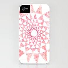 mandala:triangles iPhone (4, 4s) Slim Case