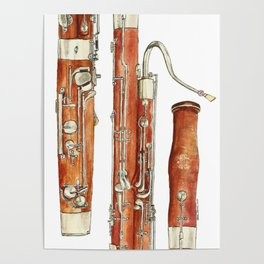 Bassoon Poster