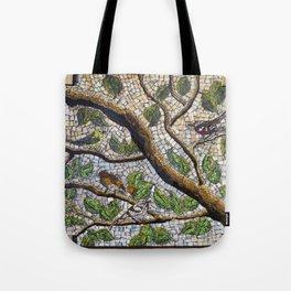 Warbler Meeting Tote Bag