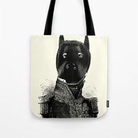 bdsm Tote Bags featuring BDSM XXXVII by DIVIDUS