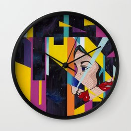 Shatter Me Wall Clock