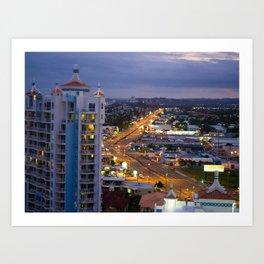 Gold Coast Highway Art Print