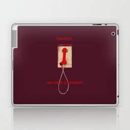houston, we have a problem Laptop & iPad Skin