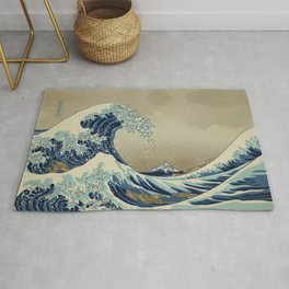 The Great Wave off 2049 Rug