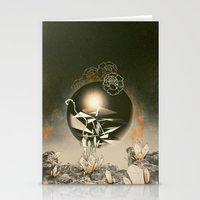 prometheus Stationery Cards featuring Prometheus  by Santiago Sarquis