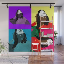 """""""Oh My Goodness"""" by Keith Moses Wardlaw A.K.A. kmoses215 Wall Mural"""