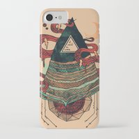positive iPhone & iPod Cases featuring Positive Thinking by Hector Mansilla
