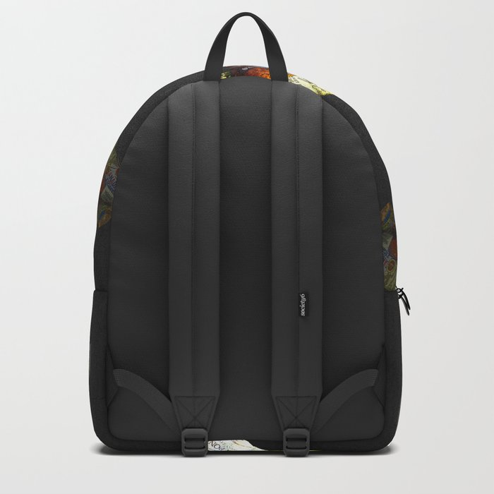 FISH AND BOURBON Backpack