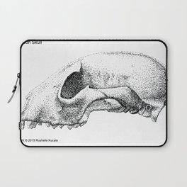 Raccoon Skull Study Laptop Sleeve