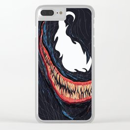 Symbiote Clear iPhone Case