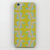 art deco iPhone & iPod Skins featuring Art Deco by Mimi