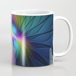 Colorful and Luminous, Abstract Fractals Art Coffee Mug