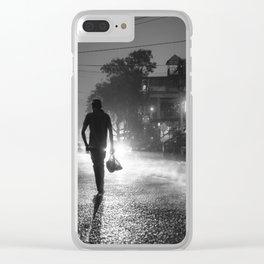 Ella street life Clear iPhone Case