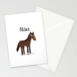 "Custom Artwork, ""Niles"" Stationery Cards"