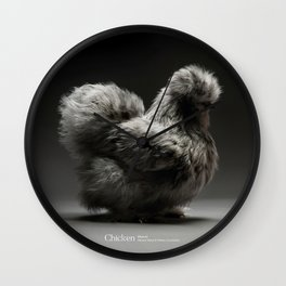 Chic!ken - Silkie Bantam Wall Clock