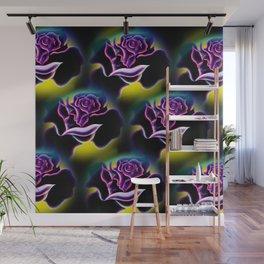 Flowers magic roses 6 Wall Mural