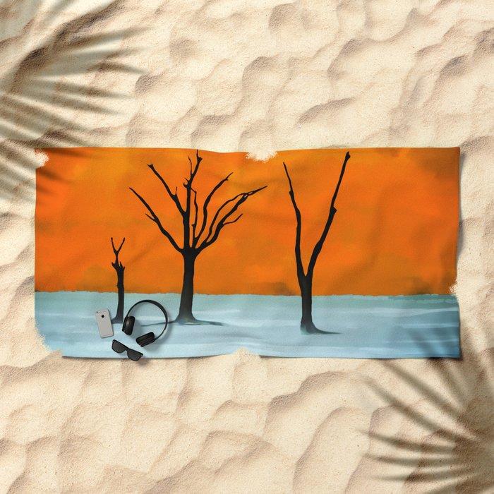 Sossusvlei, Namib Desert Beach Towel