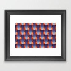 GadgetMatch pattern Framed Art Print