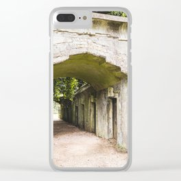 Highgate Cemetery, London - West Cemetery Clear iPhone Case