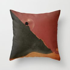 i didn't think it would end this way.  Throw Pillow