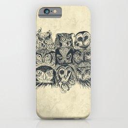 Nine Owls iPhone Case