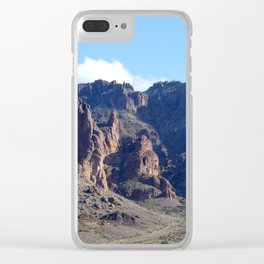 SUPERSTITION MOUNTAIN Clear iPhone Case