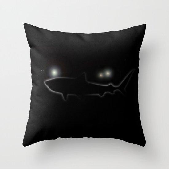 Night Diver Throw Pillow