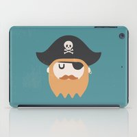 pirate iPad Cases featuring Pirate by Beardy Graphics
